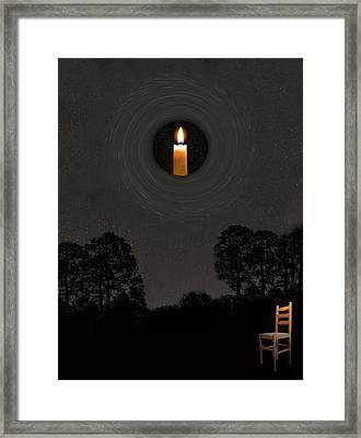Universal Light Framed Print