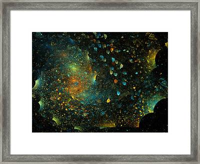 Universal Minds Framed Print by Betsy Knapp