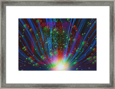 Universe Framed Print by Stephen Campbell