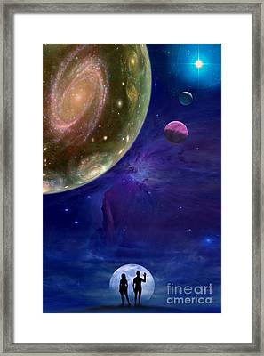 Universes Framed Print by Pal Virag
