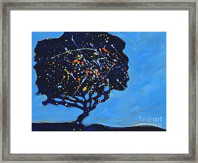 Universial Tree Framed Print
