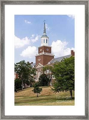 University Of Cincinnati Mcmicken College Framed Print by Paul Velgos
