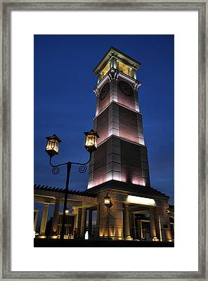 University Of South Alabama Bell Tower Framed Print by David Dittmann