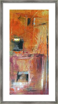 Unknown Excavation Framed Print by Ralph Levesque