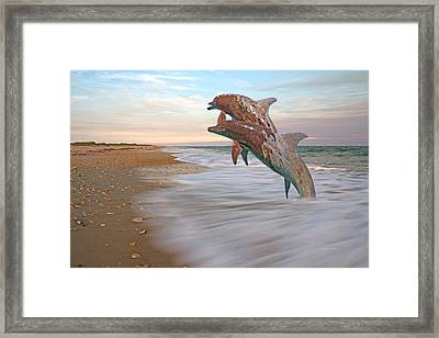 Unknown Thought Framed Print by Betsy Knapp