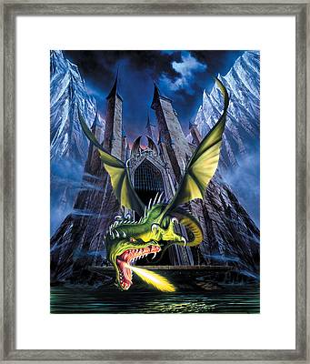Unleashed Framed Print by The Dragon Chronicles