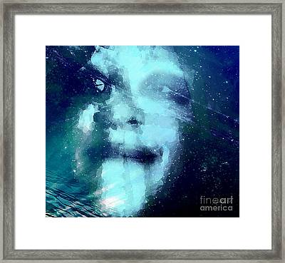 Unlived But Won't Die Framed Print by Fania Simon