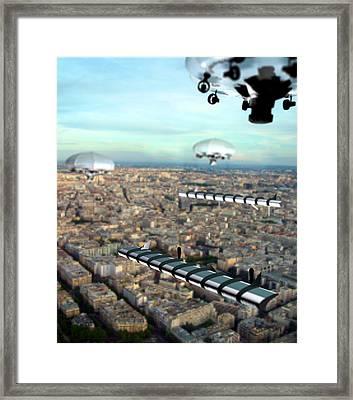 Unmanned Aircraft, Artwork Framed Print