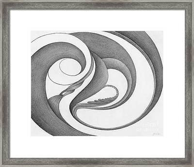 Unnamed Sketch 02 Framed Print