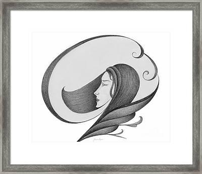 Unnamed Sketch 04 Framed Print