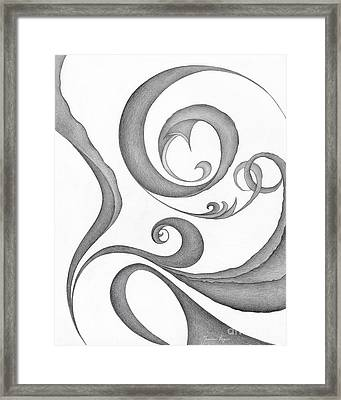 Unnamed Sketch 05 Framed Print by Joanna Pregon