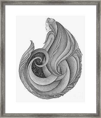 Unnamed Sketch 06 Framed Print