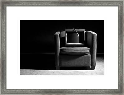 Unplugged Framed Print by Richard Yamakawa
