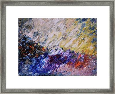 Unpredictable Tsunami Framed Print