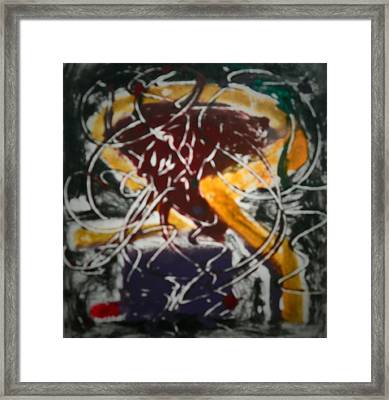 Unraveling Ideas Framed Print by Coin Iruebenebe