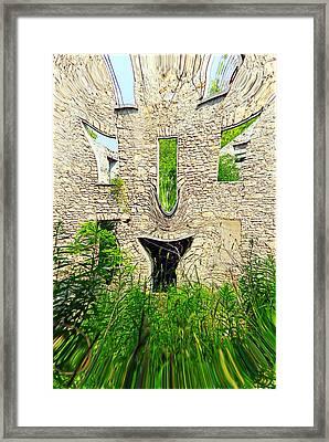 Unrested Development Framed Print by Valentino Visentini