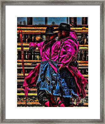 Unseen Hero Framed Print by Rachelle Rice