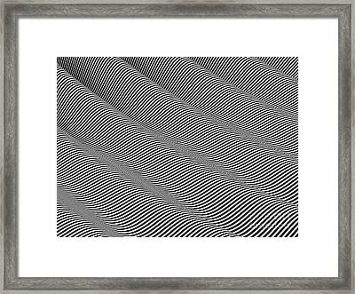 Unseen Trauma Framed Print by Steve Young