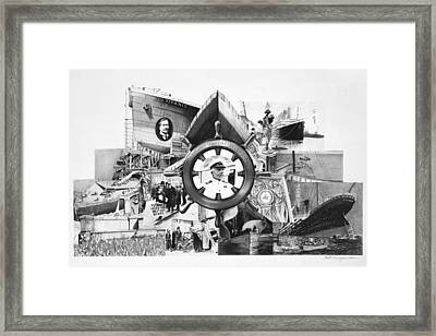 Unsinkable Framed Print by Keith Larocque