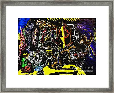 Untitled 5 Framed Print by Mack Galixtar