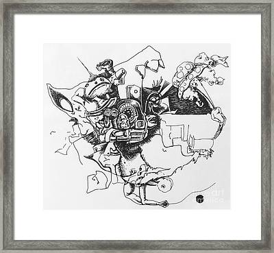 Untitled 9 Framed Print by Mack Galixtar