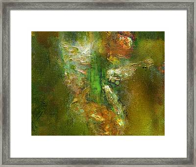 Untitled Iris Framed Print by Petro Bevza