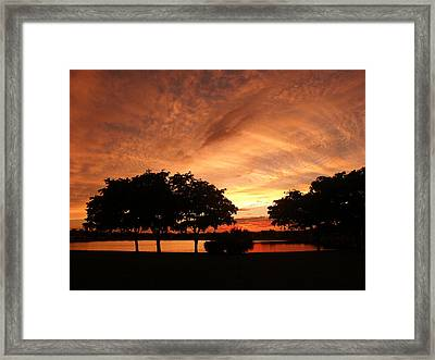 Untitled Sunset-19 Framed Print