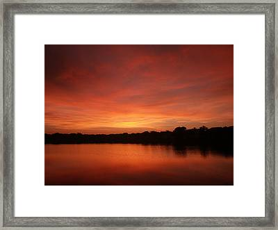 Untitled Sunset-28 Framed Print