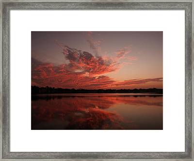 Untitled Sunset-9 Framed Print