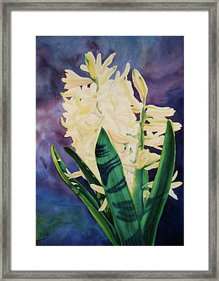 Framed Print featuring the painting Untitled by Teresa Beyer
