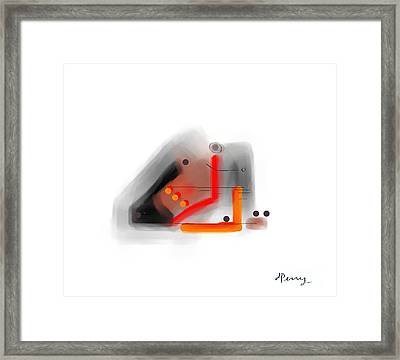 Untouchable Framed Print by D Perry