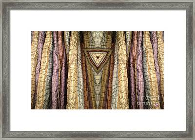Unveiled Framed Print by Ron Bissett