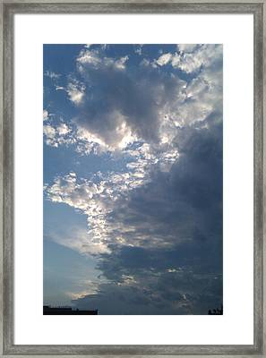 Up And Away Framed Print by ClockWork Rockawn