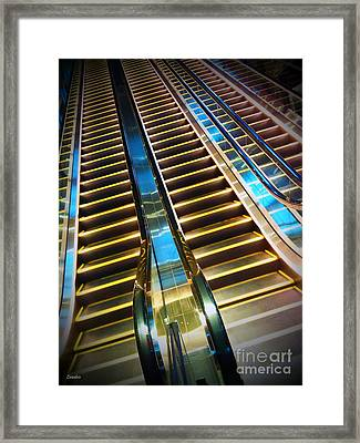 Up And Down Framed Print by Eena Bo