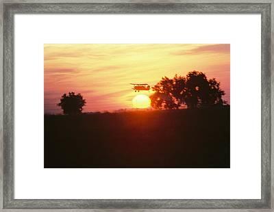 Up Before The Sun Framed Print by Trent Mallett