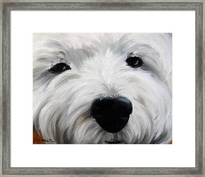 Up Close And Personal II Framed Print by Mary Sparrow