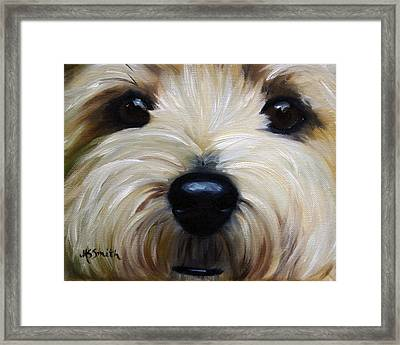Up Close And Personal IIi Framed Print by Mary Sparrow