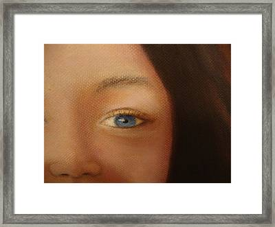 Up Close And Pretty Framed Print by Deby Kalush