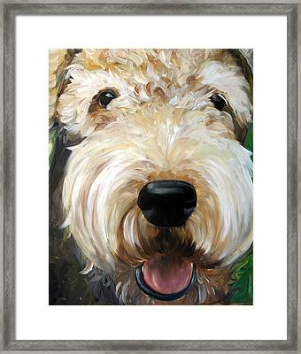 Up Close  Framed Print by Mary Sparrow
