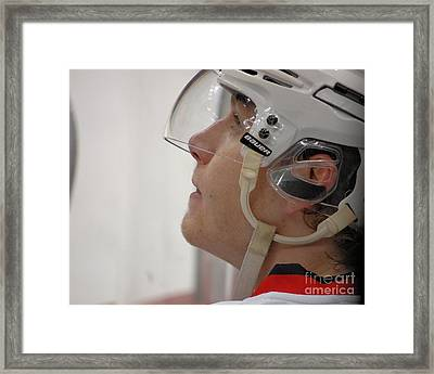 Up Close With #88 Framed Print by Melissa Goodrich