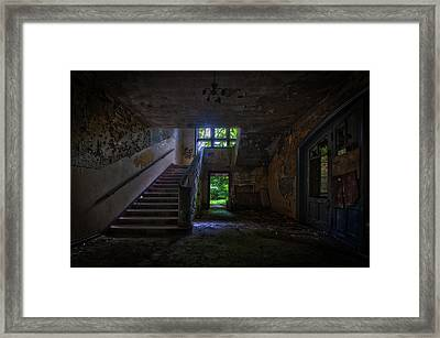 Up Into The Light Framed Print