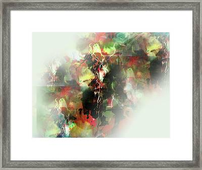 Up On Mountain Framed Print by James Thomas