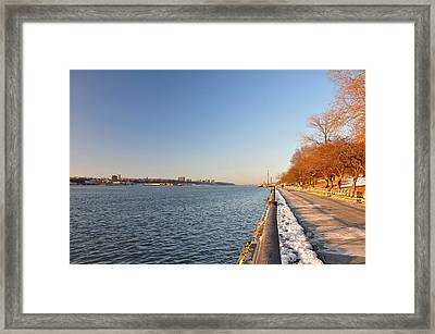 Up The Lazy River Framed Print