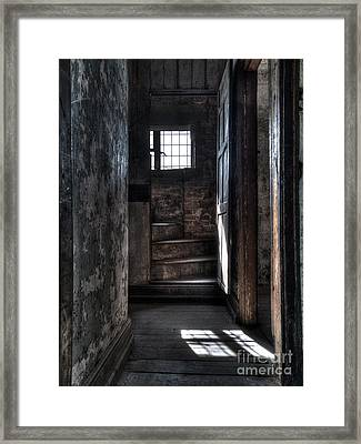 Up The Stairs Framed Print by Steev Stamford
