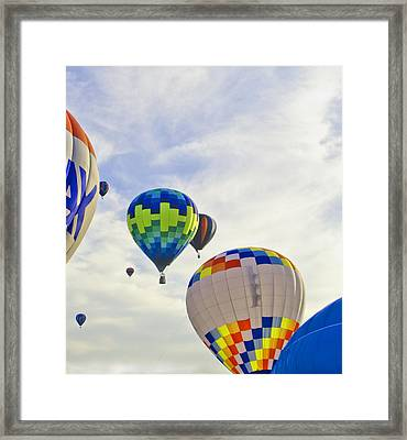 Up Up And Away Framed Print by Carolyn Meuer-Pickering of Photopicks Photography and Art