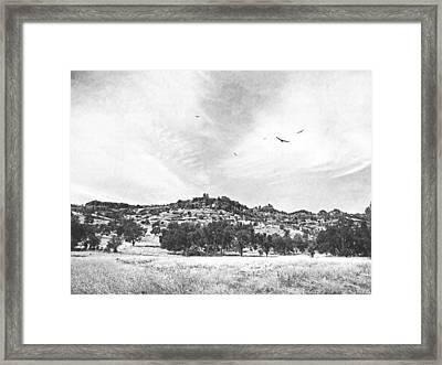 Upper Bidwell Park Framed Print