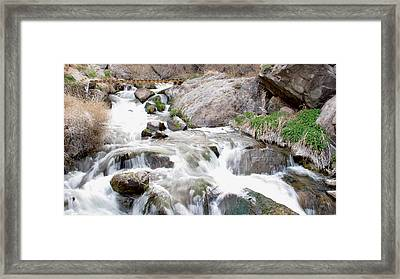 Upper Owens Framed Print by Kirk Williams