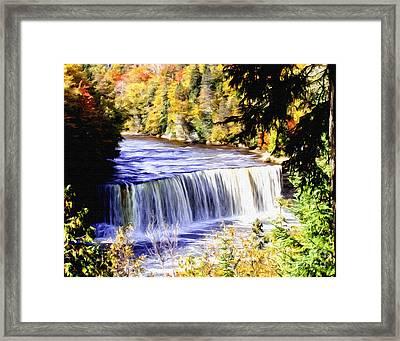 Upper Tehquamenon Falls Framed Print