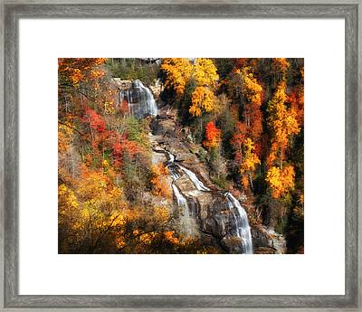 Upper Whitewater Falls Framed Print