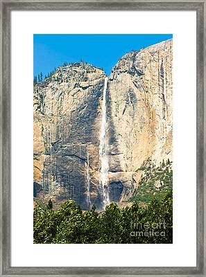 Upper Yosemite Falls Framed Print
